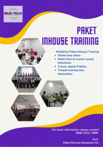 Paket Inhouse Training